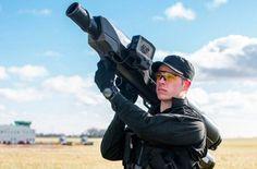 Противодронная базука— оружие против противоправных действий квадрокоптеров (видео)