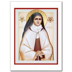 St Therese of Lisieux icon, by Brother Claude Lane of Mt Angel Monastery Catholic Gifts, Catholic Art, Religious Art, Images Of Faith, St Therese Of Lisieux, Catholic Religion, Santa Teresa, Orthodox Icons, Patron Saints