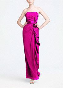 Maid of honor in pink! From David's Bridal