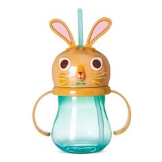 Kids' Bunny Sippy Cup 9.85oz Plastic - Blue