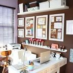Pottery Barn Daily System - traditional - home office - richmond - by Bright Bold and Beautiful Mom /cave