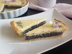 VÍKENDOVÉ PEČENÍ: Tvarohovo-makový koláč Cheesecake, Food And Drink, Low Carb, Cupcakes, Sweet, Poppy, Kitchen, Bakken, Candy