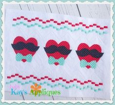 Holiday - Valentine's Day - Baby Kay's Appliques