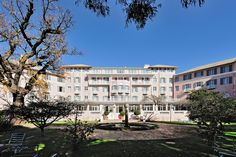 After a disastrous fire, the world renowned Mount Nelson Hotel in Cape Town required a total restoration and redevelopment. The historically sensitive existing buildings were restored to their previous pristine condition and additional luxury garden suites were added. #dhk #MountNelson #architecture #architects #restoration #refurbishment Cape Town Hotels, Refurbishment, Architects, Restoration, Buildings, Fire, Mansions, Luxury, House Styles