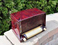 Restored Near Mint Antique Vintage General Electric Old Tube Radio Works Great   eBay