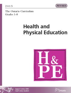 Ontario's Radical Sex Ed Curriculum - Campaign Life Coalition Physical Education Curriculum, Health And Physical Education, Ministry Of Education, Special Education, Ontario Curriculum, Student Engagement, Learning Environments, School Resources, Elementary Schools