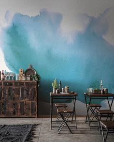 Tapeten - Splash, Revêtement mural, Murales, Art - ein Designerstück von colorayDECALS bei DaWanda