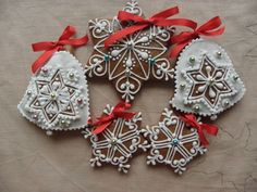 Vánoce Napkin Rings, Christmas Ornaments, Holiday Decor, Cookies, Home Decor, Pictures, Crack Crackers, Decoration Home, Room Decor