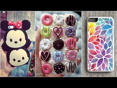 DIY Phone Case Life Hacks! 20 Phone DIY Projects & Popsocket Crafts! - YouTube