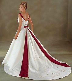 Brautkleid Abendkleid Weinrot 34...42...50...60 - Kleider Online Bestellen