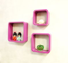 Cube Shelves, Wall Shelves, Floating Shelves, Shelf, Wall Cubes, Wooden Walls, Decoration, Design, Home Decor