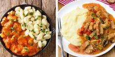 Perkelt verzus paprikáš Risotto, Ethnic Recipes, Food, Red Peppers, Essen, Meals, Yemek, Eten