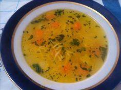 Pileća supa sa domaćim rezancima ~ Kod bake u gostima
