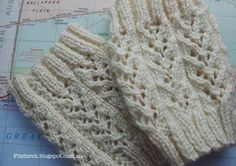 Rustic Charm Boot Cuffs 6 or 4 mm Yarn Weight: (2) Fine Pattern is for knitted flat