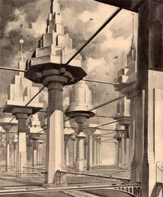 The city of the future (April, 1934 Popular Science Monthly)