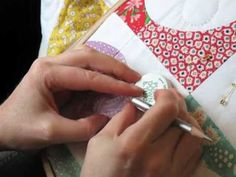 Hand Quilting Videos, I'm sure I won't do this  -no patience - maybe if I get ambitious and I hear news of a grandbaby coming =]
