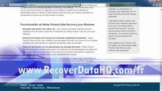 Vous voulez savoir comment récupérer des fichiers supprimées? Il est désormais facile de restaurer les données d'un disque dur en utilisant le meilleur logiciel de récupération de données. Retrouvez vos fichiers supprimés, récupérer des fichiers après reformatage de votre disque dur, et bien plus encore ! Cliquez sur le lien ci-dessous pour commencer.