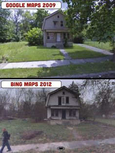 Shocking! Street View Photos Show Staggering Decline Of Detroit (VIDEO)