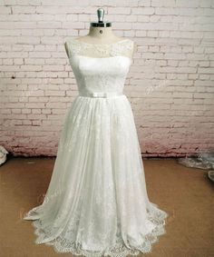 Amazing A-line Wedding Dress