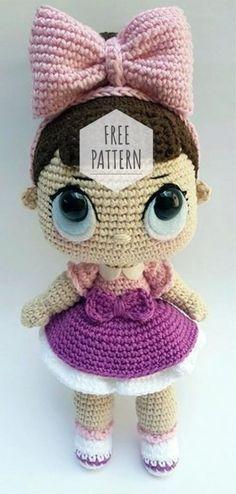 Amigurumi Doll Sweet Girl Free Pattern | Amigurumi