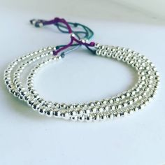 #mix_and_match your favourite #jewelry #Simply chic #silver_plated #adjustable_bracelet ! So #tiny and #cute ...🌈... Choose your #colours and #threads  And #make_your_story_with_ilene  #ilene_handcrafted_creations #simplicity #minimal #silver #burgundy #love_my_job #minimal_jewelry #chic_jewellery #all_day_long #beads #madeingreece #greek_designers #chania #lovely #instajewelry #pic_of_the_day #picoftheday #todays_mood Unique Bracelets, Handmade Bracelets, Beaded Bracelets, Todays Mood, Minimal Jewelry, Adjustable Bracelet, Silver Plate, Greek, Burgundy