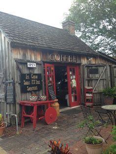 Cutest Coffee shop in Saint Augustine, Florida