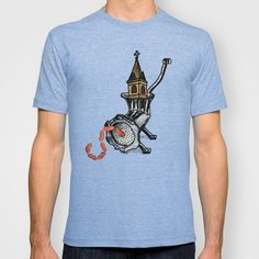 St. Sausage T-shirt by Mike Brennan - $22.00