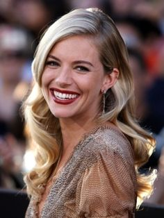 Sienna Miller Old Hollywood Waves Hairstyle