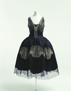 Lanvin robe de style ca. 1925 From the Kyoto Costume Institute via World Fashion Channel ""