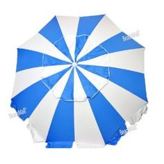 8 ft. Heavy Duty Beach Umbrella UPF100+ with Tilt - Fiberglass Ribs by Suntiva : Amazon.com : Sports & Outdoors