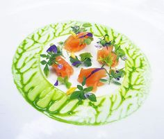 Foodstar Wuttisak Wuttiamporn (@chef_wuttisak) shared a new image via Foodstarz PLUS /// Smoked Salmon, Green Sauce  #smoked #salmon #green #sauce #thailand #foodstarz  If you also want to get featured on Foodstarz, just join us, create your own chef profile for free, and start sharing recipes, images and videos.  Foodstarz - Your International Premium Chef Network