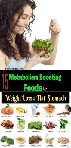 15 Metabolism Boosting Foods for Weight Loss & Flat Stomach Foods that increase metabolism and burn fat. If you like food like me and you're wondering to know the best metabolism boosting foods for Weight Loss, that will help you lose some pound in your Weight Loss Meals, Diet Food To Lose Weight, Quick Weight Loss Tips, Healthy Weight, How To Lose Weight Fast, Food For Diet, Reduce Weight, Weight Loss Diets, Best Diet Plan For Weight Loss