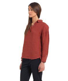 Shirt Luca Telino Red - Women - Shop
