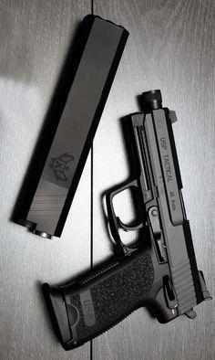 SilencerCo Osprey .45 No Piston Handgun Firearm Suppressor SU12 @aegisgears #silencer #handgun