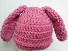 Easy Baby Bunny Hat