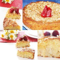 Simplesmente delicious.. .!       Um bolo tão simples,como somente delicioso,delicious.Servido para umbrunch ou como sobremesa.Sabe sem...
