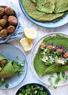 Spinatpandekager - Valdemarsro Baby Food Recipes, New Recipes, Dinner Recipes, Healthy Recipes, Food Baby, Pinterest Recipes, Pinterest Food, Dinner Is Served, Fabulous Foods