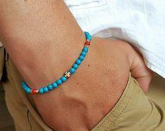 Items I Love by Tim on Etsy Beaded Necklace, Delicate, My Love, Bracelets, Etsy, Jewelry, Blue Nails, Bracelet, My Boo