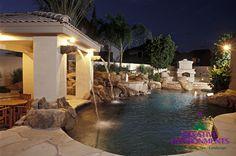 With your vision and Creative Environment's professionals, together, we can create the custom swimming pool you've been dreaming of. Our award winning pool designs will provide a vacation getaway right in your own backyard. Get the resort pool you have always dreamed of from Arizona's Premier Pool builder Creative Environments.