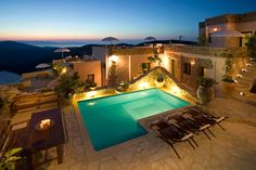 Cressa Ghitonia Sfaka Located in the mountainous village of Sfaka, Cressa Ghitonia features traditional accommodation, an outdoor pool and spa centre. Overlooking the Cretan Sea, Cressa Iris Restaurant serves local specialties and drinks. Crete Island Greece, Small Spa, Spa Weekend, Village Hotel, Greece Hotels, Cool Pools, Hotel Spa, Vacation Trips, Vacation Ideas