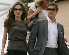 Angelina Jolie and Brad Pitt, my favorite celebrity couple