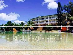 This breathtaking view of Eurong Beach Resort plus the emerald green lagoon water is perfect for family's weekend getaway.