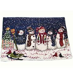 Tis The Season Snowman Friends Tapestry Placemat Set of 4 - Christmas Home Collection http://www.amazon.com/dp/B018GH0QMU/ref=cm_sw_r_pi_dp_aWEvwb19AQFGV
