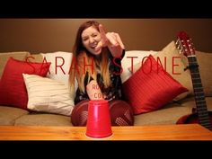 Royals - Cover By Sarah Stone (Cup Song Version)