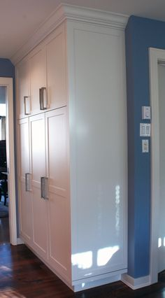 painted :: meridian door style #kitchen #cabinets #painted