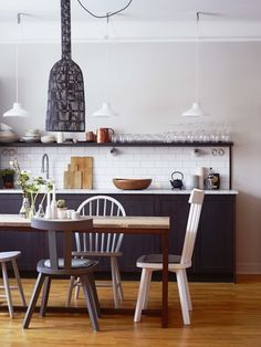 scandinavian retreat.: A hint of colour
