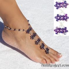 | Wind Purple Barefoot Sandals – Halaken FeetHalaken Feet