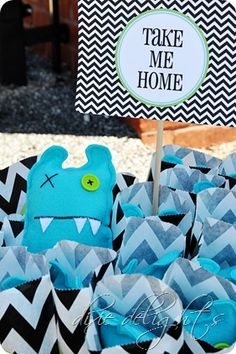 Cute ideas for a monster themed party