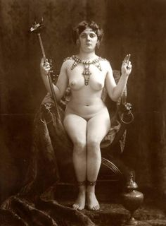 Vintage ceremonial priestess