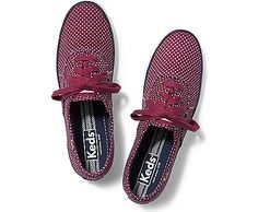 Taylor Swift for Keds Collection Keds Sneakers, Keds Shoes, Taylor Swift Shoes, Maroon Shoes, Red Trainers, Polka Dot Shoes, Keds Champion, Lace Up Shoes, Oxford Shoes